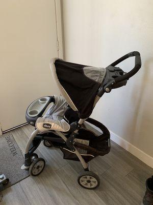 Chicco baby stroller and used car seat for Sale in Phoenix, AZ
