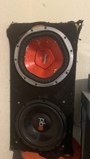 "Powerbass 10"" speaker for Sale in Fresno, CA"