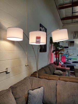 Floor Lamp w/White Shade 83in for Sale in Santa Ana, CA