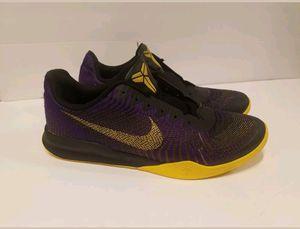 6af120a21b49 Nike Kobe Bryant KB Mentality II Fierce Purple Gold 818952-501 Men s Size 10