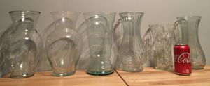 Lot of 20 Glass Flower Vases - Easter for Sale in Pittsburgh, PA