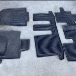 OEM Infinity Rubber Floor Mats QX60 2016 for Sale in Chino, CA