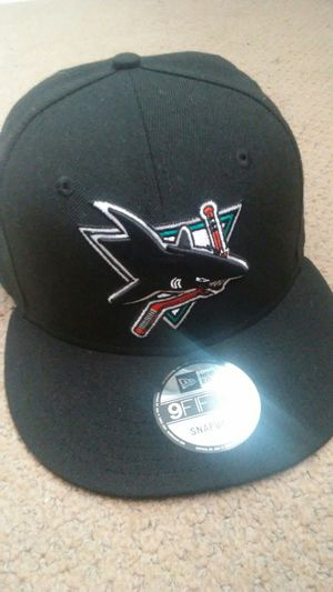 San jose sharks hat for Sale in San Jose, CA