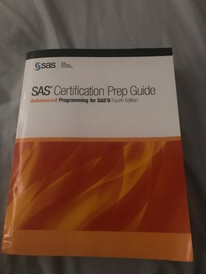 Advanced programming for sas 9 fourth edition book for Sale in Lewisville, TX
