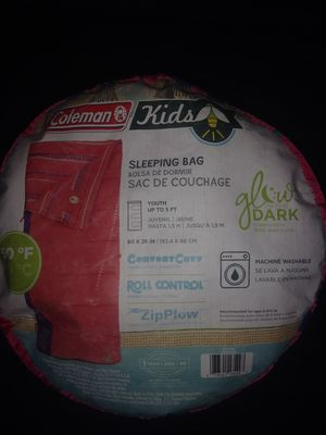 Coleman Sleeping Bag Camping for Sale in Falls Church, VA