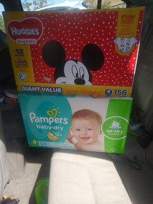 Huggies/Pampers various sizes for Sale in Brentwood, CA