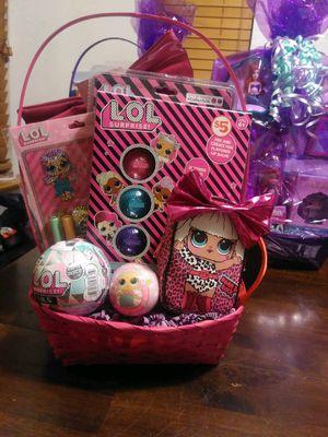 L.O.L Surprise Easter Basket for Sale in Visalia, CA