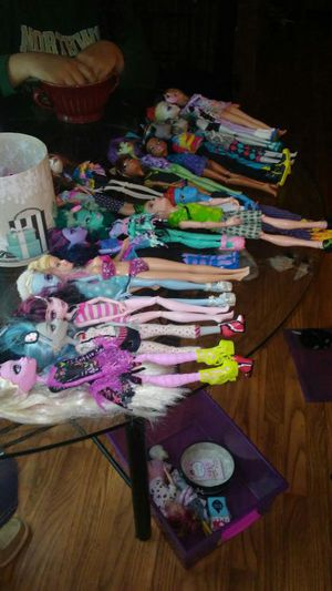 Monster high dolls for Sale in Chapel Hill, NC