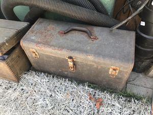 Old vintage large toolbox for Sale in San Diego, CA