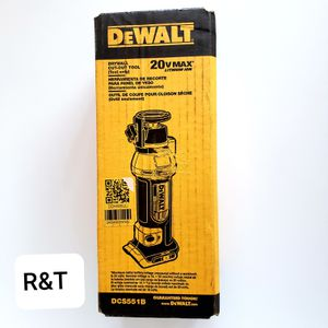 DEWALT 20-Volt MAX Lithium-Ion Cordless Drywall Cut-Out Tool (Tool-Only) for Sale in Fullerton, CA