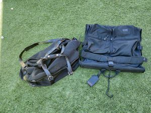 Cole Haan weekender duffle and Tumi garment bag for Sale in Henderson, NV