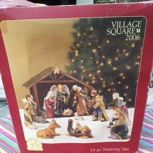 Nativity Scene 14 Pieces for Sale in Whittier, CA