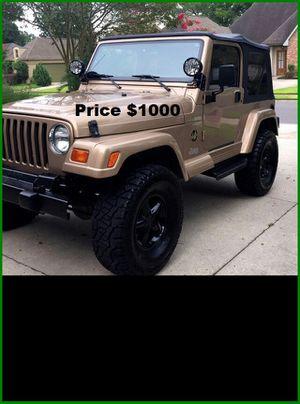 ֆ1OOO_1999 Jeep Wrengler for Sale in Alexandria, VA