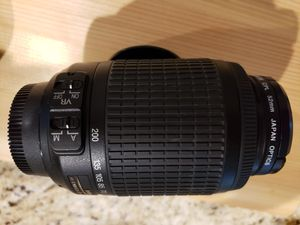 Nikon AF-S DX VR 18-55 &55-200 for Sale in Houston, TX