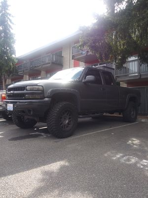 Chevy Silverado .1999 pickup truck. automatic for Sale in Renton, WA