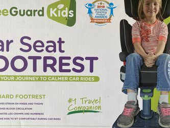 Car Seat & Booster Seat Footrest, Gray (Latest Version) for Sale in Whittier,  CA