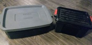 Pair Of Plastic Storage Containers for Sale in Spring Valley, CA
