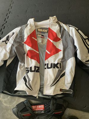 ICON motorcycle jacket / ICON vest for Sale in Riverview, FL