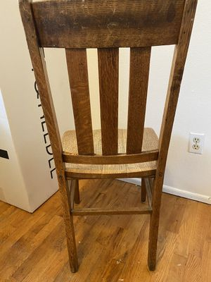 Antique library chair for Sale in Tacoma, WA