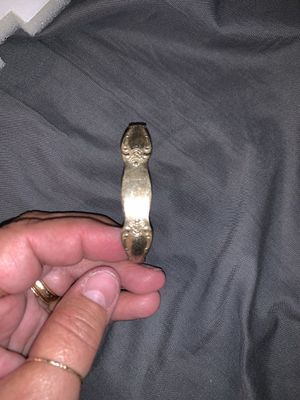 Silver spoon bracelet for Sale in Mansfield, OH