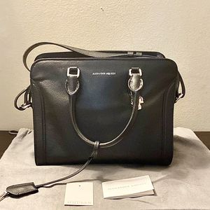 Alexander McQueen Small Pebbled Leather Satchel for Sale in Alexandria, VA