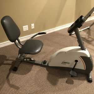 Recumbent Exercise Bike for Sale in Bartlett, IL