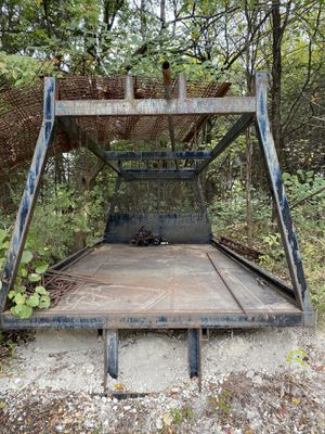 Flatbed with ladder rack for Sale in McKinney, TX