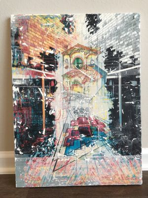 Abstract Architecture Painting for Sale in Orlando, FL