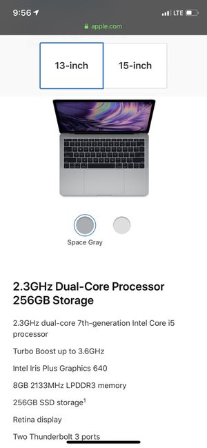 Brand New MacBook Pro (2017) i5 256GB SSD for Sale in Carnegie, PA