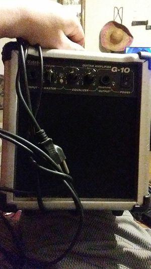 Guitar amplifier for Sale in Evansville, IN