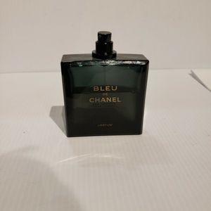 Bleu De Chanel Parfum 100 Ml Partial Mens Cologne Perfume for Sale in Houston, TX