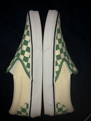 Checkerboard Slip On Vans for Sale in BELLEAIR BLF, FL