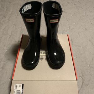 Kids Hunter Black Rainboots for Sale in Liberty Hill, TX