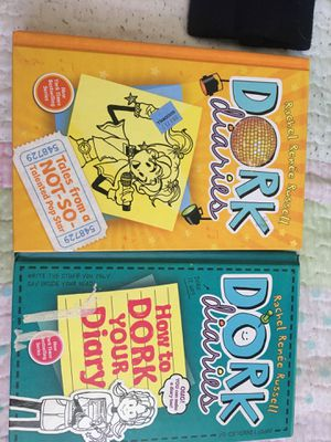 dork diaries 3 and 3 1/2 for Sale in Long Beach, CA