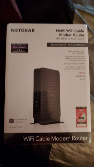 Brand new Netgear wifi cable modem router for Sale in Galloway, OH