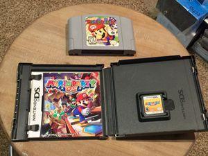 Mario Party (N64) + Mario Party DS! for Sale in San Antonio, TX
