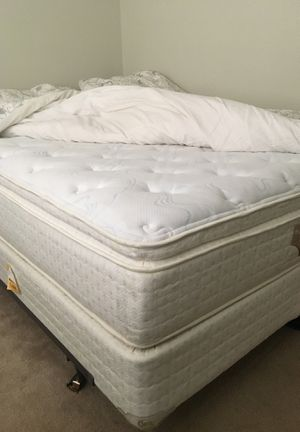 Queen Serta Mattress, Box Spring, Bed frame for Sale in Falls Church, VA