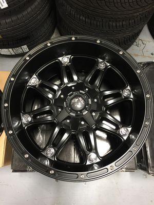 "Brand New 20"" Inch Fuel Hostage 20X10 Matte Black Wheels Rims Rines 5X139.7 5X5.5 5X150 5X5.91 for Sale in Austin, TX"