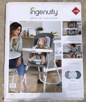 BRAND NEW, NEVER USED, UNOPENED Ingenuity Trio 3-in-1 High Chair for Sale in San Diego, CA