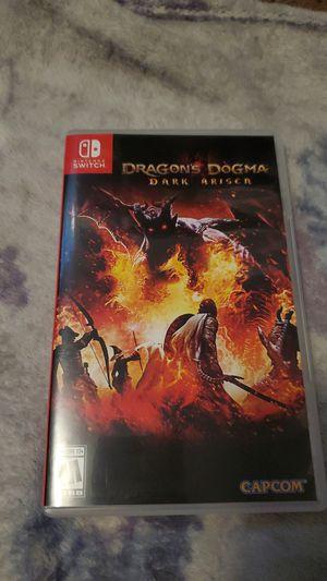 Dragons dogma dark arisen for Nintendo switch for Sale in San Diego, CA