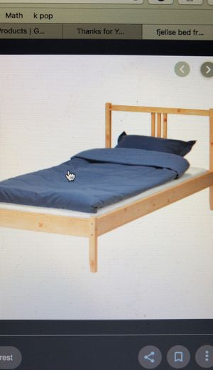 Twin bed + frame for Sale in East Los Angeles, CA