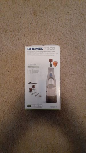 Dremel 7300 cordless 4.8V two speed rotary tool Brand new in box for Sale in Garland, TX