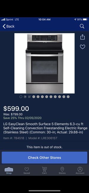 LG EASYCLEAN stove and oven. for Sale in Lawton, OK