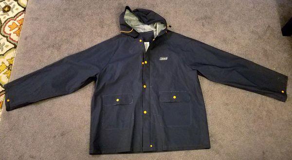 Coleman PVC raincoat
