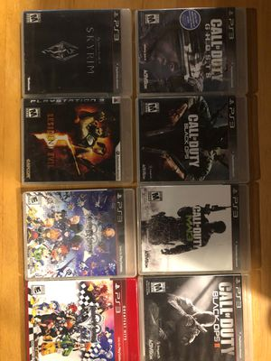 8x ps3 games for Sale in Southington, CT