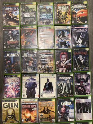 More original Xbox games for Sale in Jurupa Valley, CA