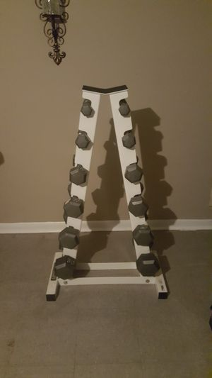 Dumbbells Set 5-30 for Sale in Houston, TX