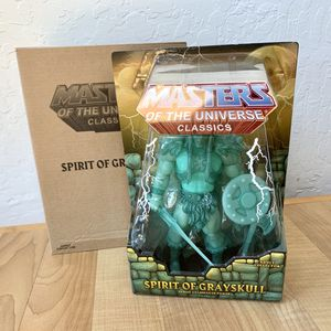 Heman and the Masters of the Universe Spirit Of Grayskull Action Figure, Mattel 2014 MOTU MOTUC Toy NEW Sealed In Package With Mailer for Sale in Elizabethtown, PA