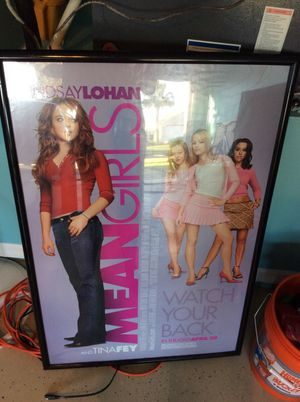 Mean girls movie poster for Sale in Orlando, FL