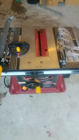 Chicago table saw electric power tools for Sale in Springfield, VA